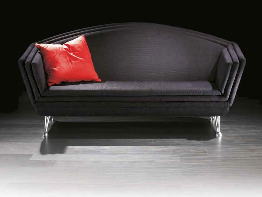 2 seater fabric sofa HOTEL MILANO | Sofa by Mirabili