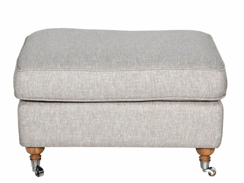 Fabric footstool HOWARD | Footstool by Sits