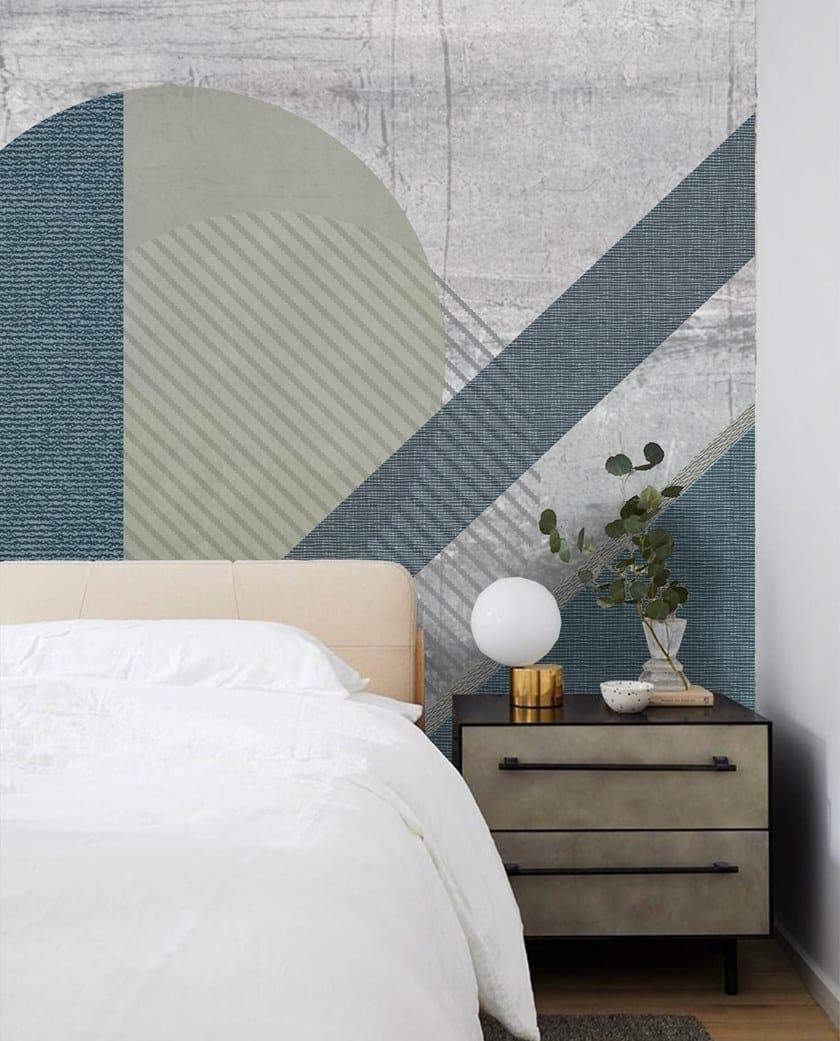 Wall tiles / wallpaper HOWL BLU by Officinarkitettura®