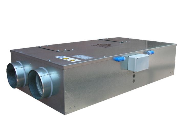 Heat recovery unit for false ceiling HRI-TWO by Vortice