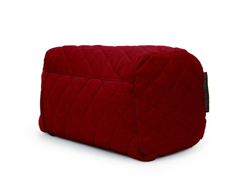 Fabric bean bag pouf PLUS QUILTED NORDIC by Pusku pusku