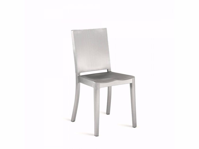 Sedia in alluminio HUDSON | Sedia by Emeco