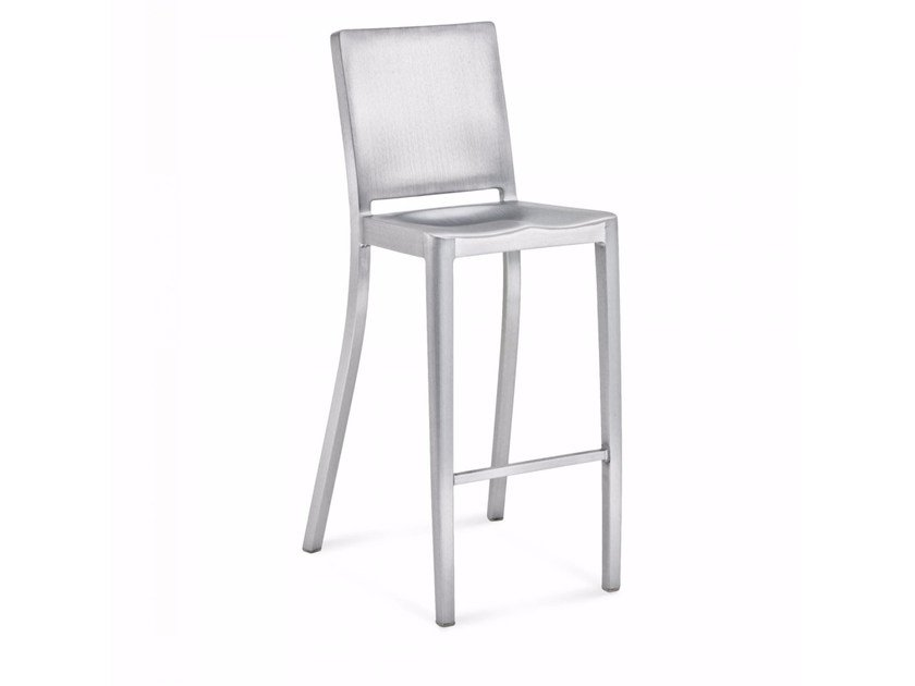 High aluminium barstool HUDSON | Stool by Emeco