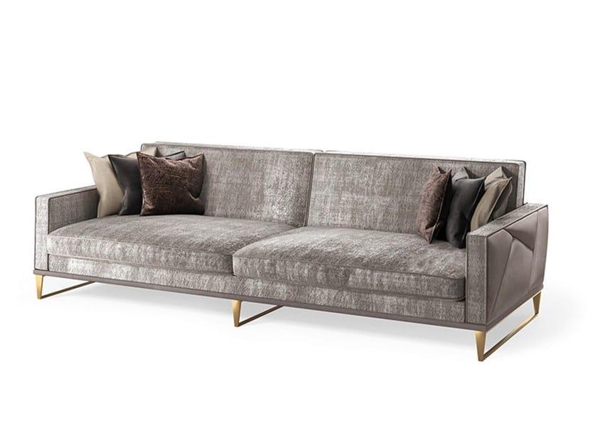 3 seater fabric sofa HUGO | Sofa by Valderamobili