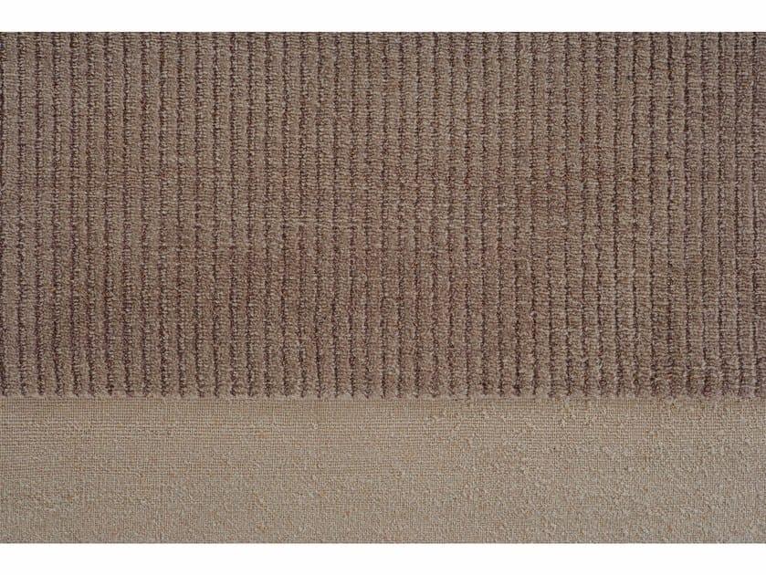 Handmade rectangular rug HUNUA BIANCO by Golran
