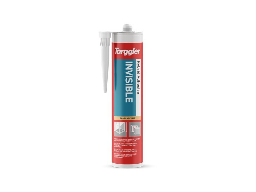 Acrylic sealant HYBRID ADHESIVE INVISIBLE by Torggler Chimica