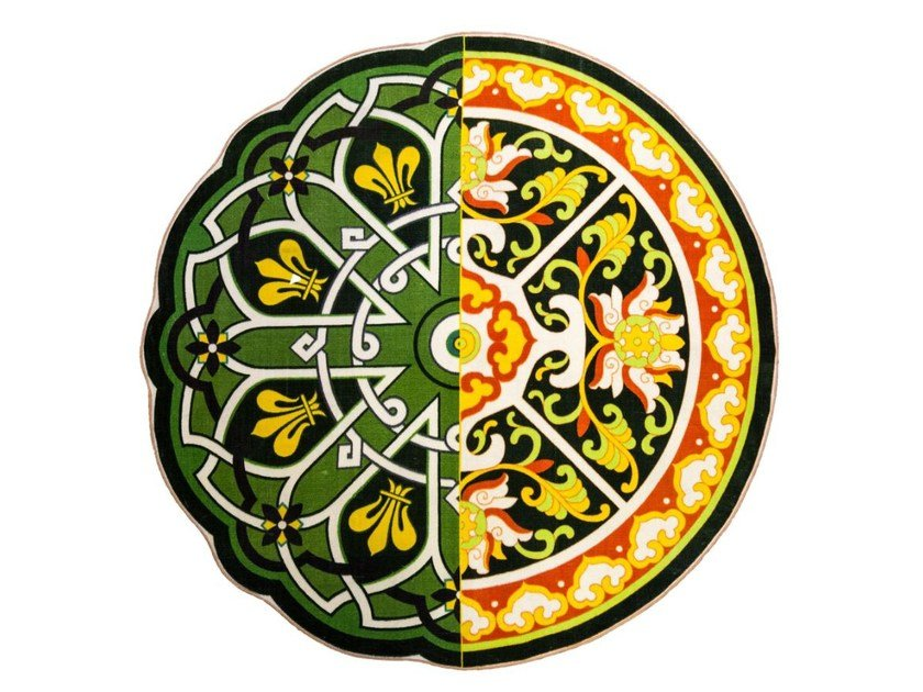 Patterned rug HYBRID PERINZIA by Seletti