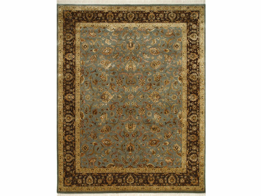 Tappeto fatto a mano HYDRA QNQ-44 Olive Fog/Cocoa Brown by Jaipur Rugs