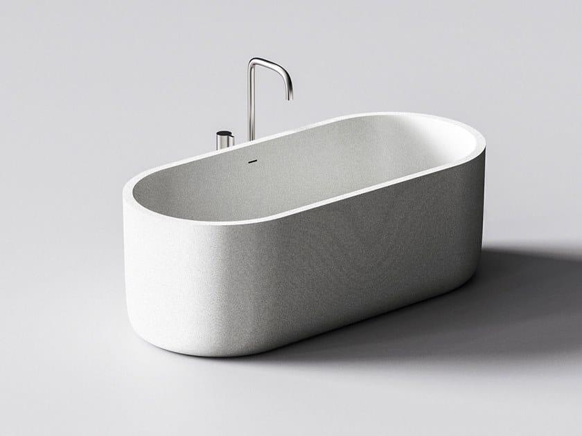 Quartz sand bathtub HYDRA by Sandhelden