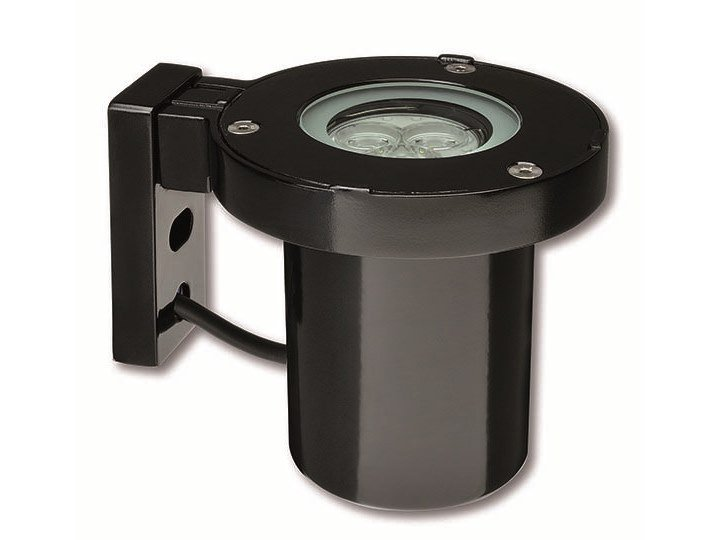 LED wall-mounted die cast aluminium Outdoor spotlight HYDROBRACKET by PUK