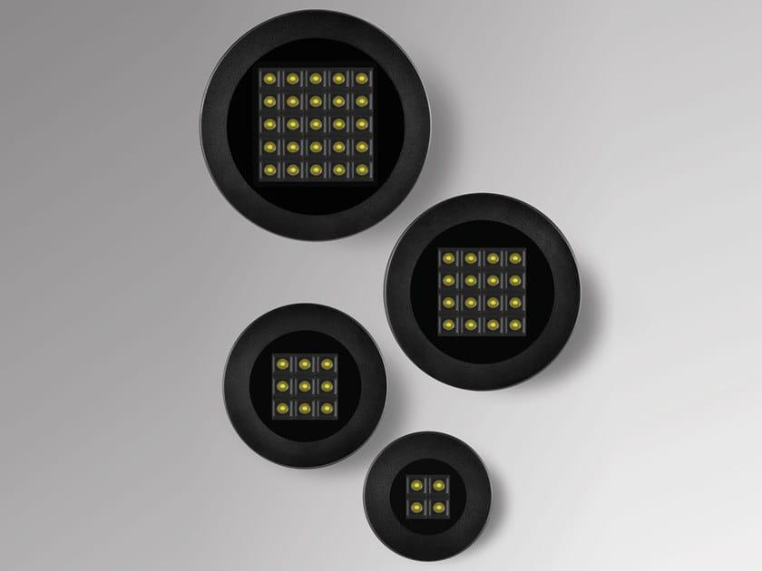 Segnapasso a LED a pavimento in alluminio pressofuso per esterni HYDROFLOOR INVISA-LIGHT by PUK