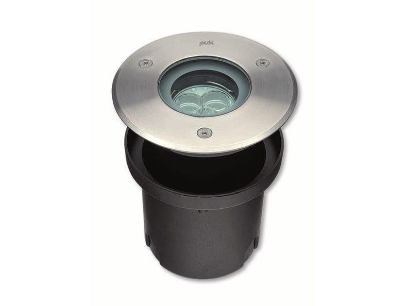Segnapasso a LED a pavimento in alluminio pressofuso per esterni HYDROFLOOR MINI | Segnapasso in alluminio by PUK