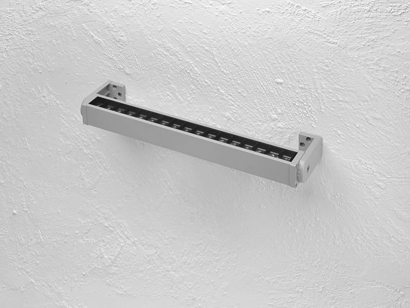 LED adjustable die cast aluminium wall washer HYDROLINE-B by PUK