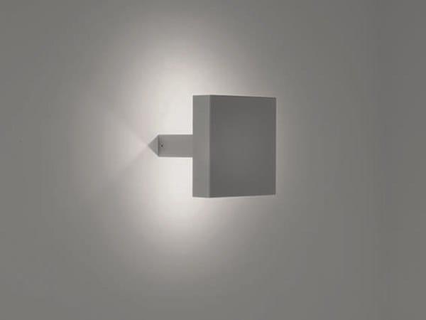 LED direct-indirect light die cast aluminium wall lamp HYDROMASK | Direct-indirect light wall lamp by PUK