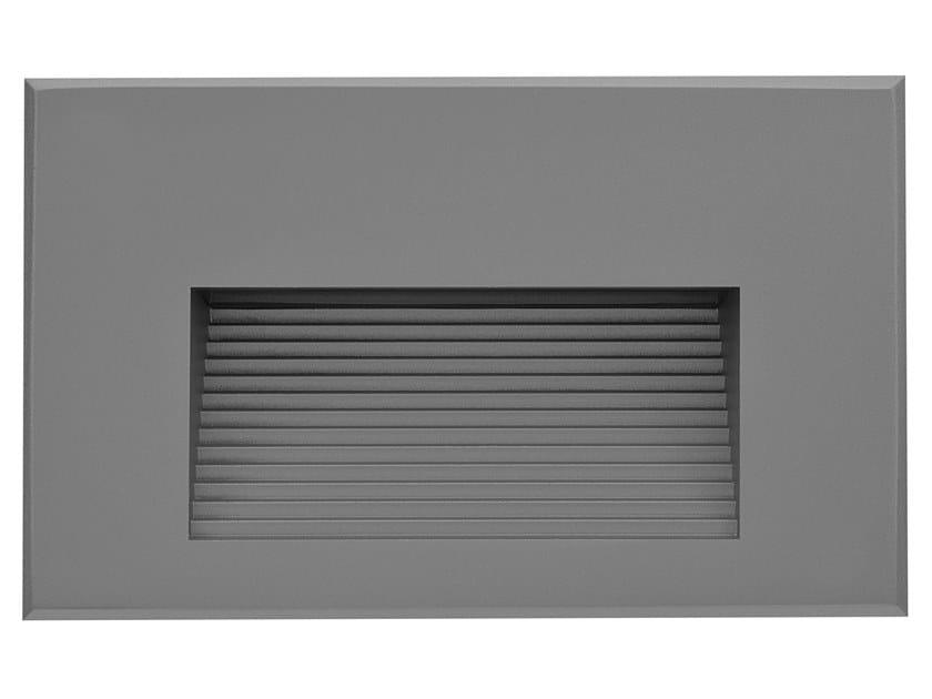 LED wall-mounted die cast aluminium steplight HYDROSTEP | Aluminium steplight by PUK