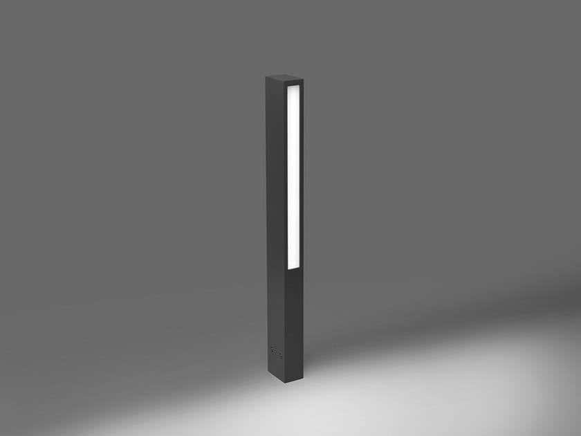 LED die cast aluminium bollard light for Public Areas HYDROSTICK by PUK