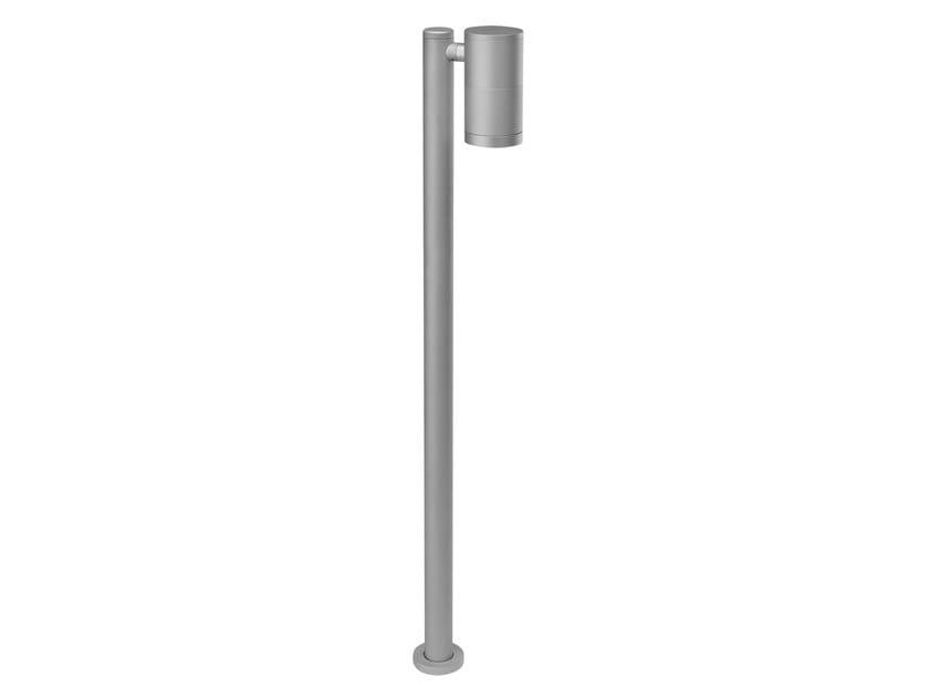 LED Anodized aluminium bollard light for Public Areas HYDROSWING by PUK