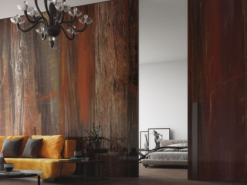 Resin Decorative panel HYPERION by Tecnografica