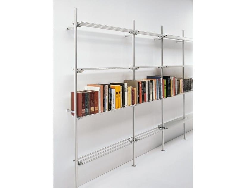 Libreria a parete in alluminio HYPÓSTILA II by BD Barcelona Design
