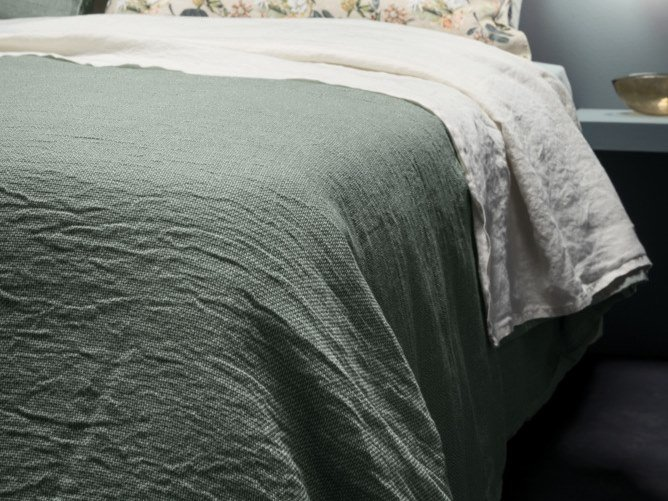 Solid-color duvet cover I FILI | Duvet cover by LA FABBRICA DEL LINO