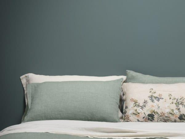 Solid-color pillow case I FILI | Pillow case by LA FABBRICA DEL LINO