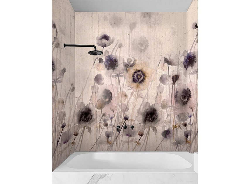 Wall tiles / wallpaper I FIORI DI CHIARA by Officinarkitettura®