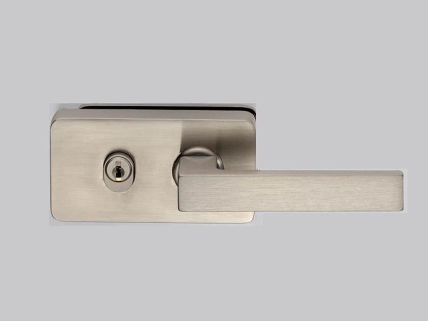 Serratura per porte in vetro I-LOCK MV-900 by Metalglas Bonomi