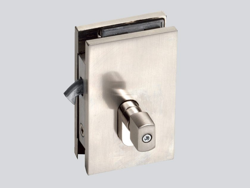 Glass door lock I-LOCK V-900 by Metalglas Bonomi