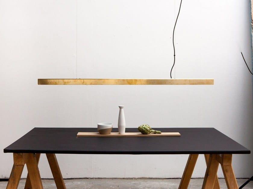 LED handmade pendant lamp I MODEL | Brass pendant lamp by Anour