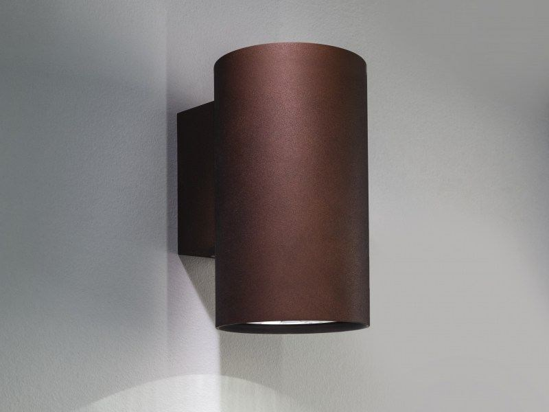 LED aluminium wall lamp with dimmer I-PIPEDI A | Direct light wall lamp by LUCIFERO'S