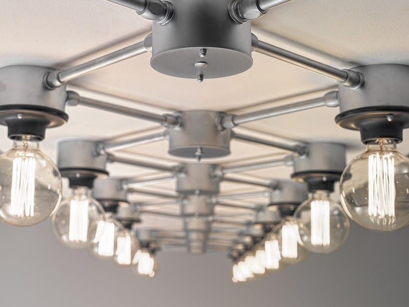 Wall lamp / ceiling lamp I QUADRI SYSTEM by Aldo Bernardi
