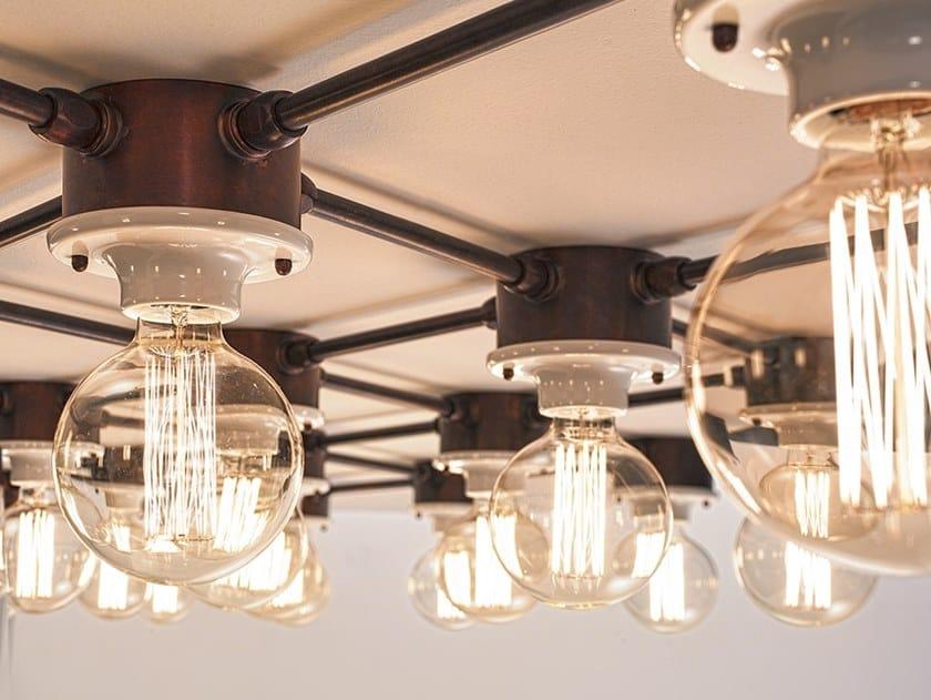 Wall lamp / ceiling lamp I ROMBI SYSTEM by Aldo Bernardi