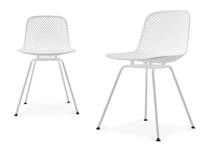 Plastic chair I.S.I. | Chair by BALERI ITALIA