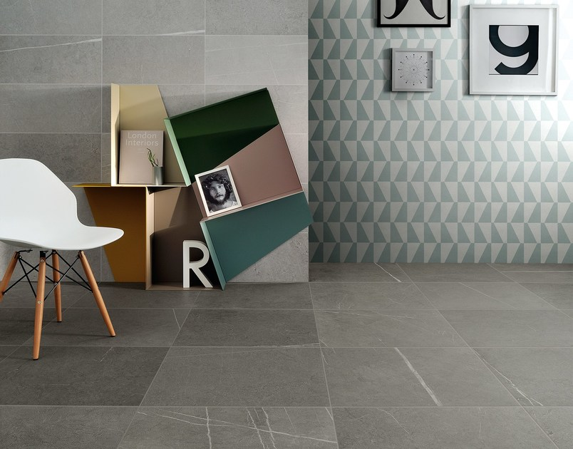 Porcelain stoneware wall/floor tiles with stone effect I SASSI by Ceramiche Coem