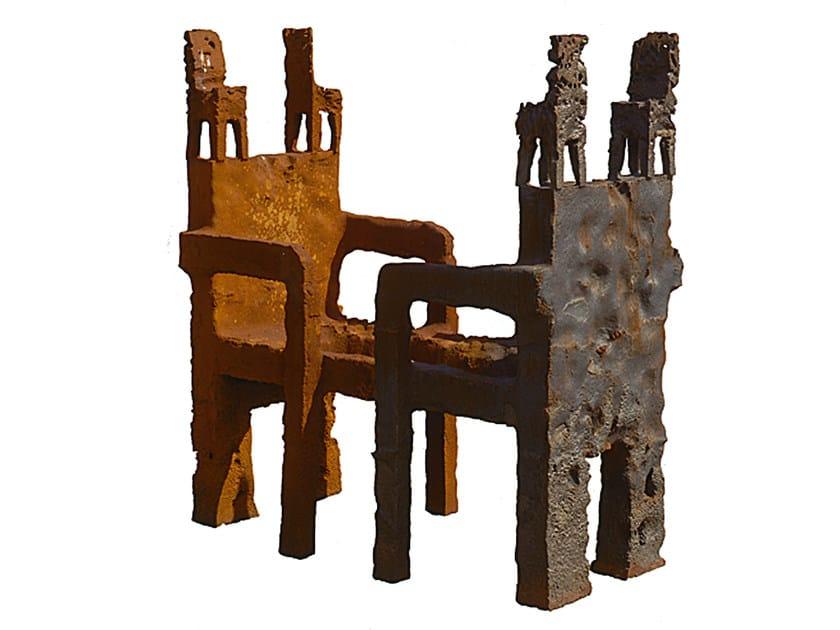Bronze sculpture I TRONI by Mirabili