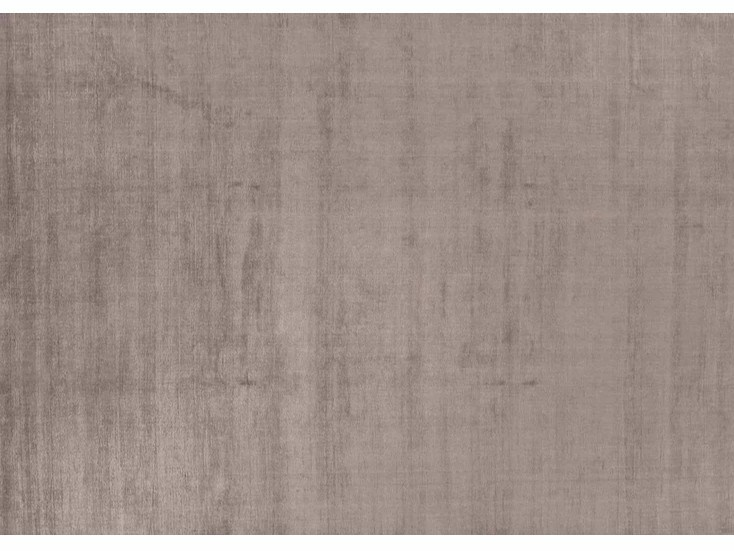 Solid-color rectangular bamboo fibre rug I044 | Rug by Mohebban