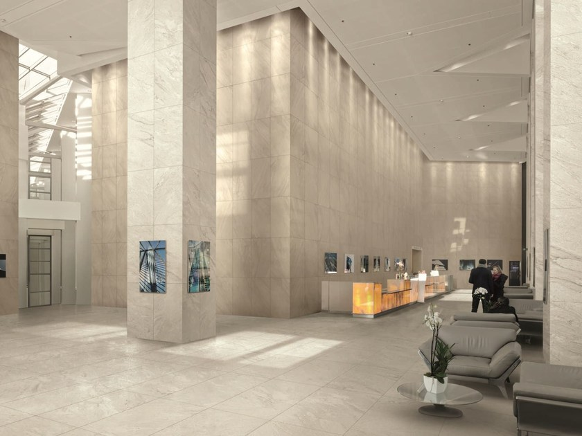 Porcelain stoneware wall/floor tiles with stone effect INNER PEAK by Ceramiche Caesar