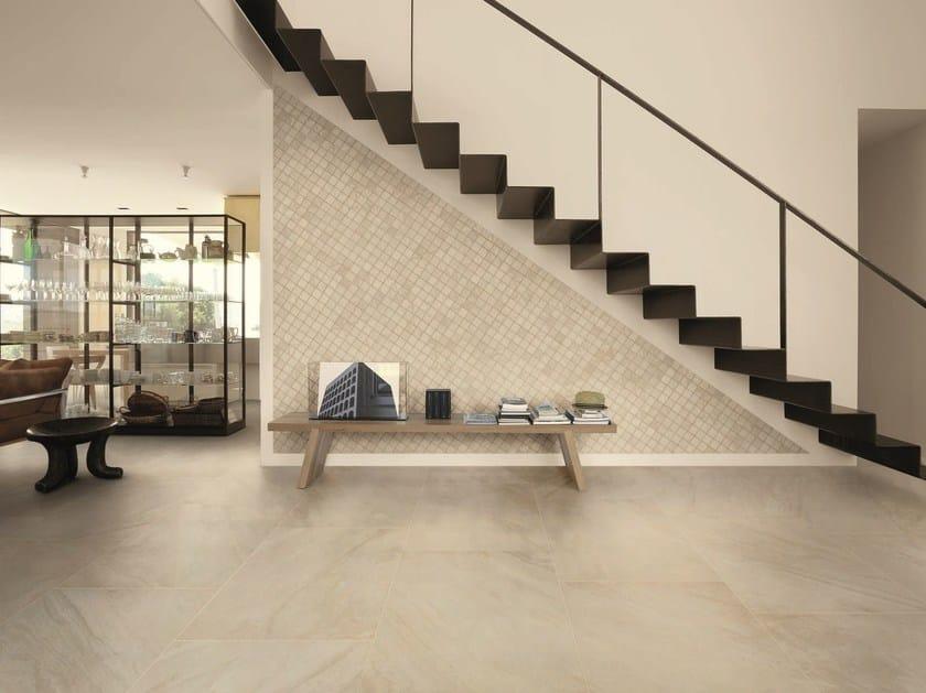 Pavimento/rivestimento in gres porcellanato effetto pietra INNER SHORE by Ceramiche Caesar