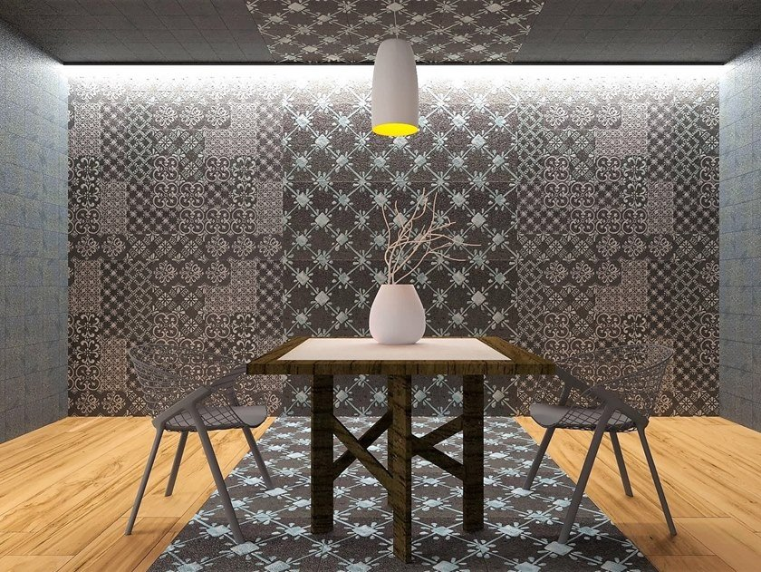 Indoor lava stone wall tiles iPROVENCE by Acquario Due