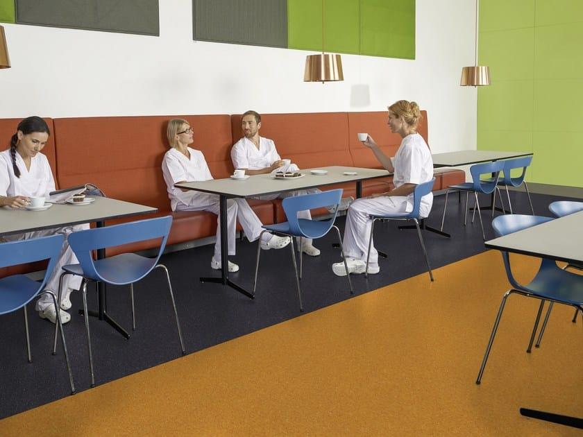 Resilient vinyl flooring iQ Granit by TARKETT