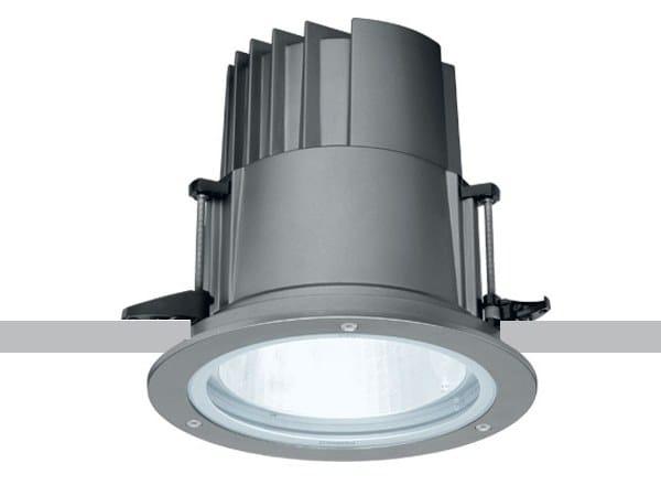 Faretto per esterno a LED a soffitto da incasso IROUND by iGuzzini