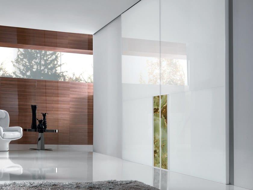 Ianus Lacquered Door Aluminium Chic Collection By Longhi Design