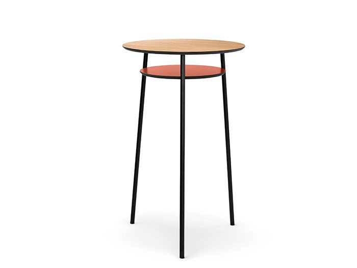 Round high table IBETTA | Round table by SCULPTURES JEUX
