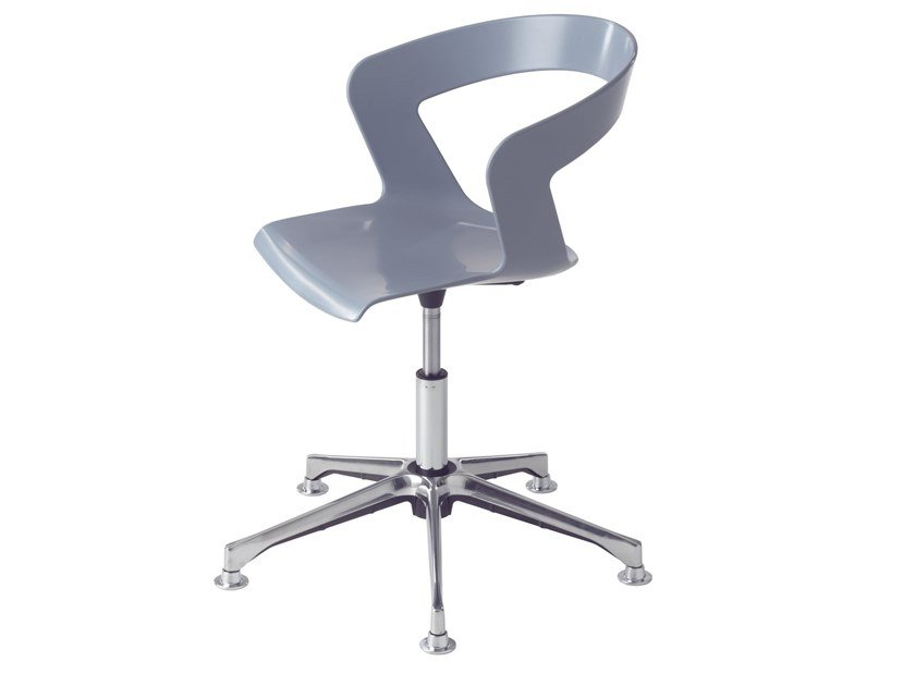 Swivel task chair with 5-Spoke base Ibis 002-DP by Metalmobil