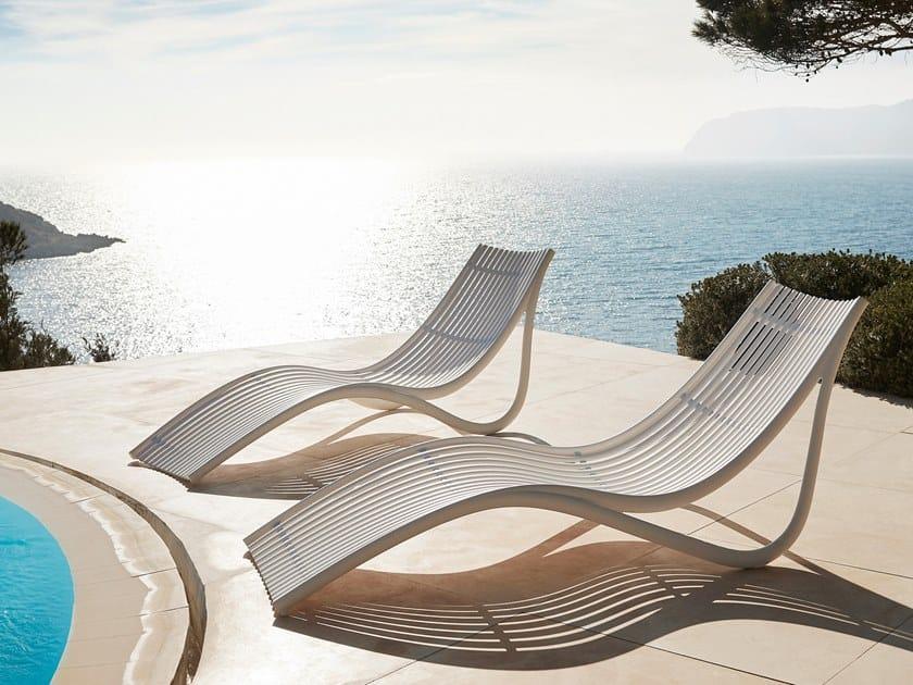 Sdraio Da Giardino In Plastica Prezzi.Ibiza Lettino Da Giardino Collezione Ibiza By Vondom Design