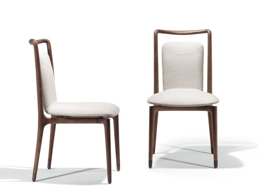 Fabric chair IBLA | Chair by GIORGETTI