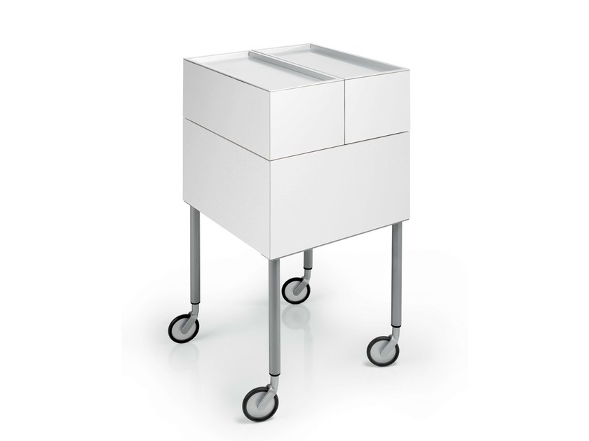 Hairdressing trolley IBOX by Gamma & Bross