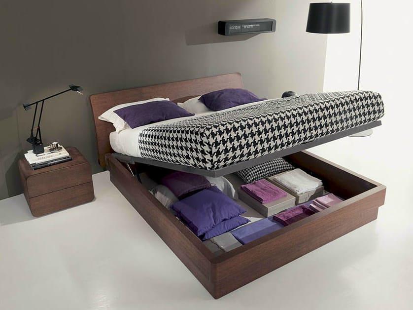 Wooden storage bed ICARO | Storage bed by Fimar