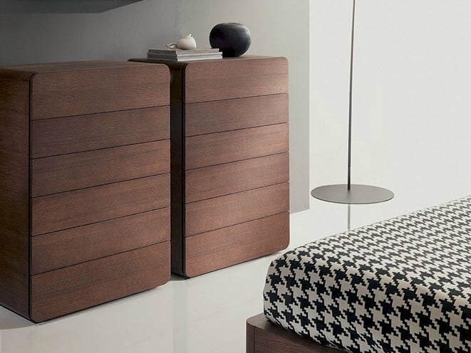 Wooden chest of drawers ICARO | Chest of drawers by Fimar
