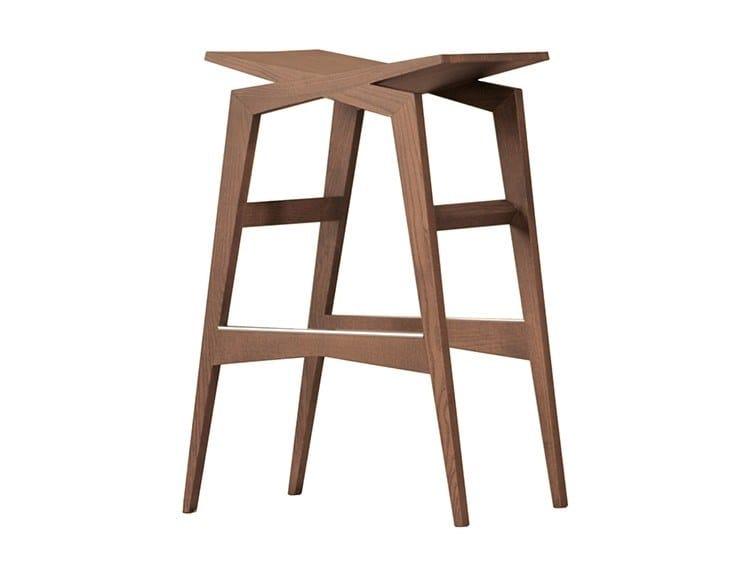High ash barstool ICARO | High stool by Morelato
